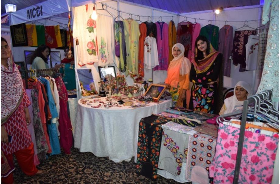 Miss Arooj Shoukat and Miss Najma are feeling confident to be part of Blue Fair Multan